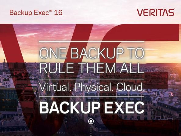 Nouveautés Veritas Backup Exec 2016