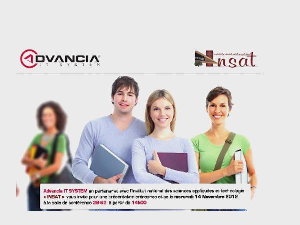 Présentation Entreprise - INSAT